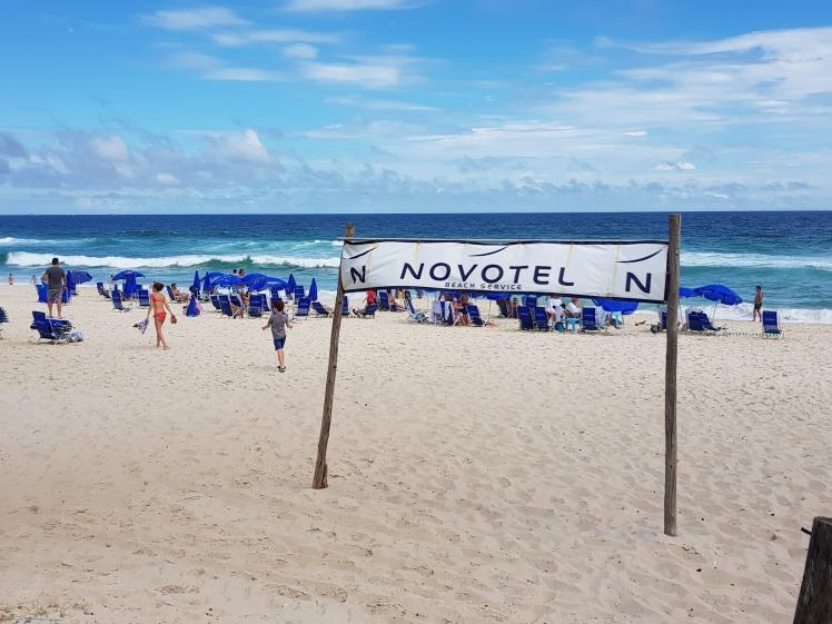 Novotel - playa